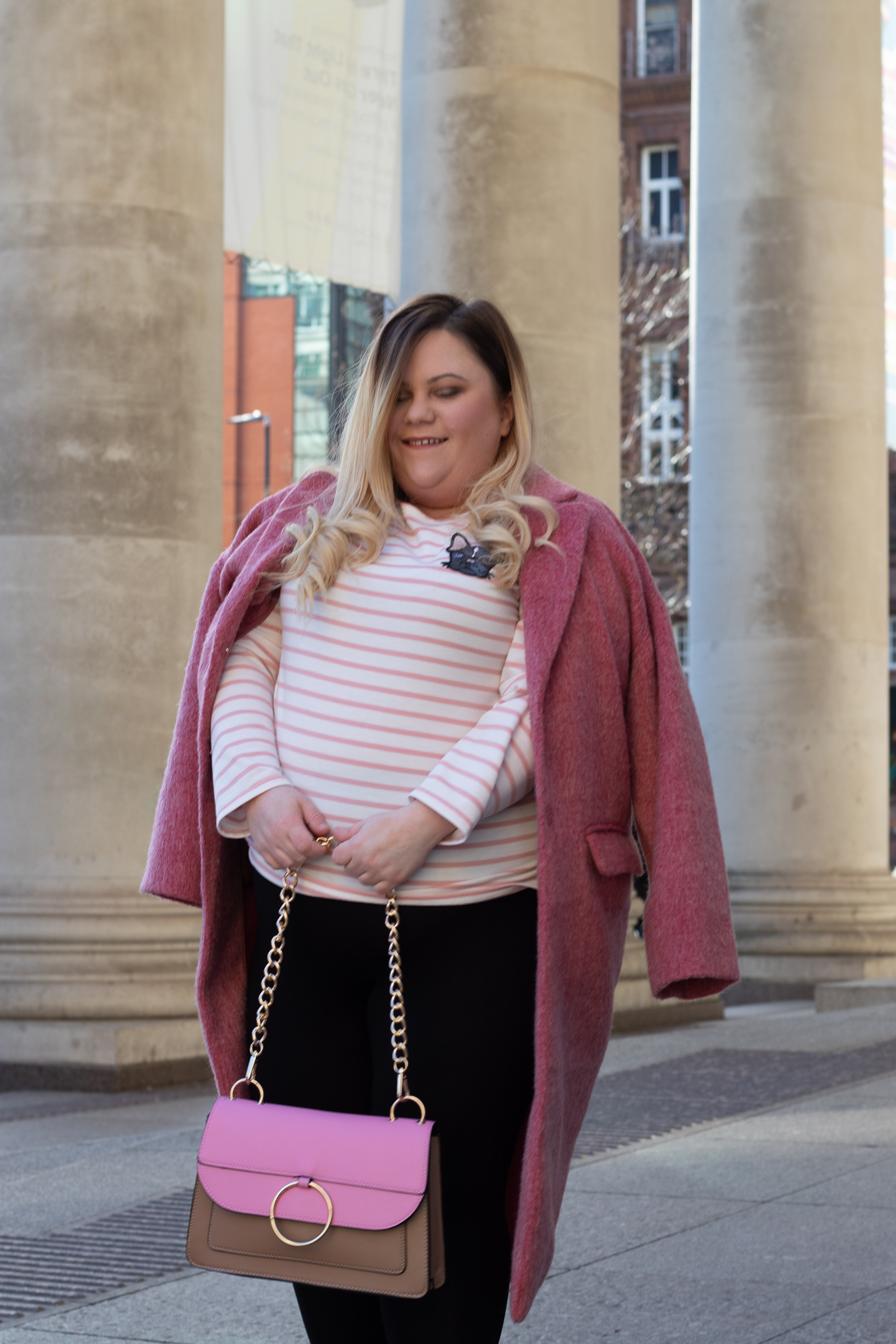 Joanie Clothing pink plus size top