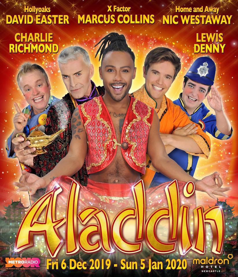 Full Cast Photo - 3 Wishes with Aladdin at Tyne Theatre 2019