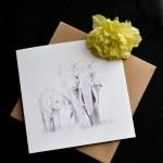 Elephent Greeting Card