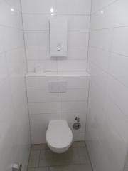 neues Badezimmer WC