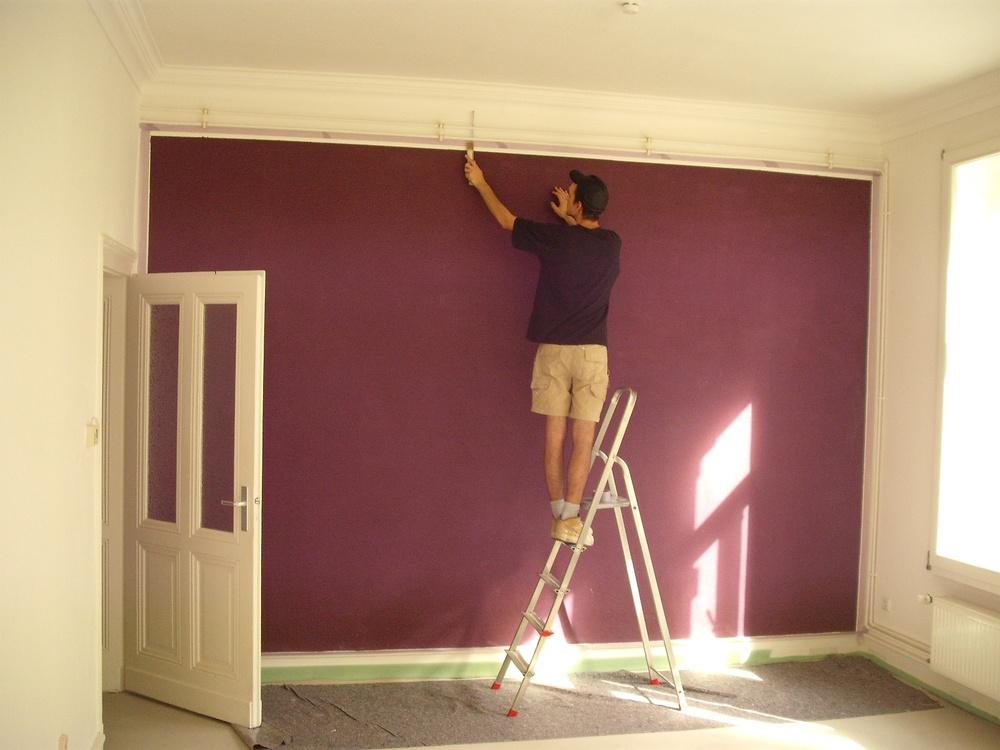 Farbige Wandflächen Im Altbau Gemo Service