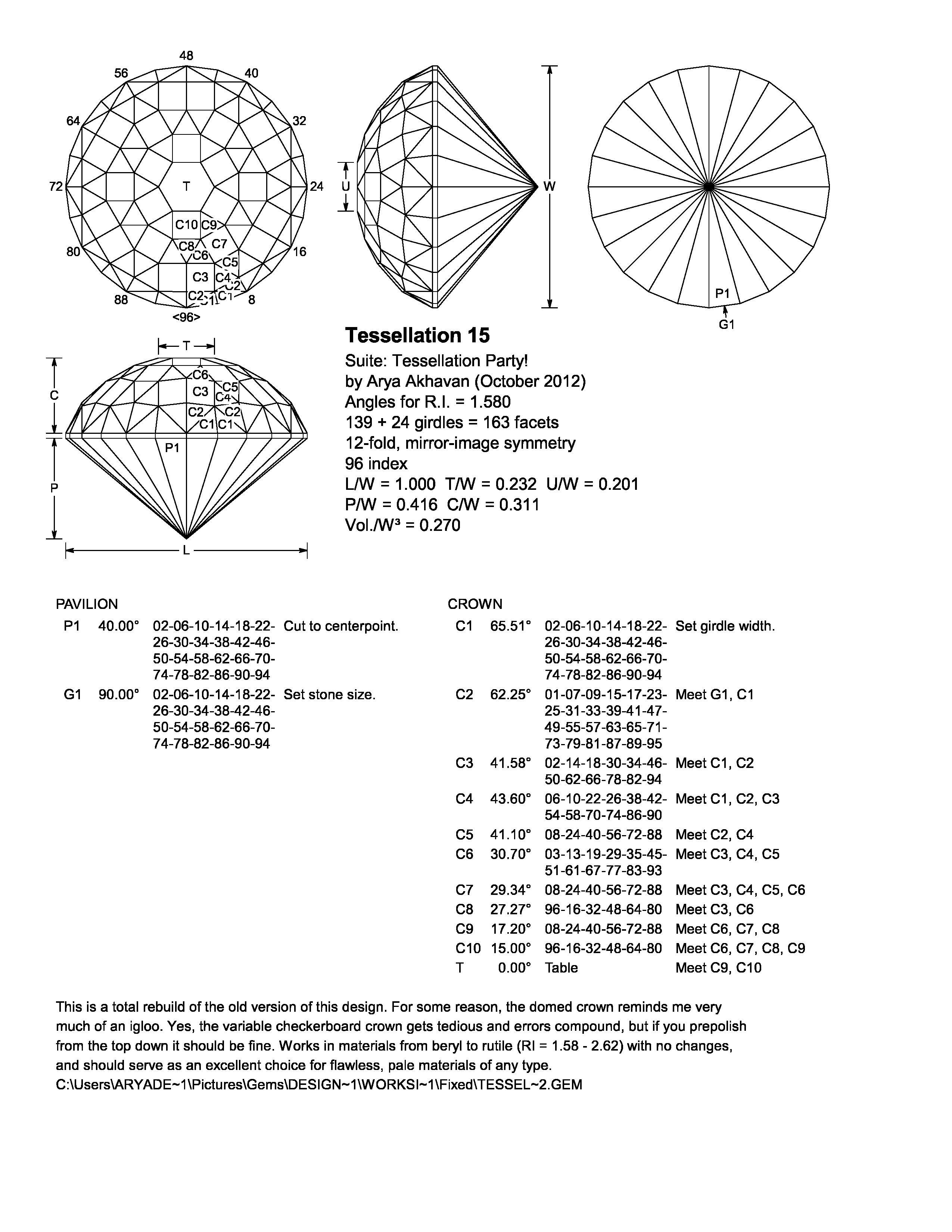 File Tessellation 15 O Diagram