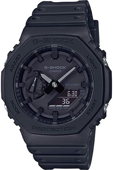 G-SHOCK GA2100-1A1 Men's Casio Watch- Black - Gemorie