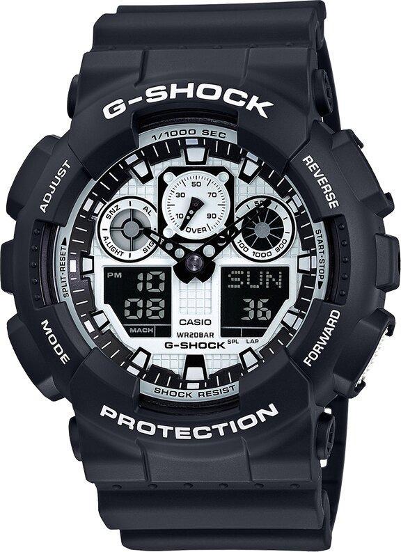 G-SHOCK G-SHOCK 200M Water Resistant Men's Watch - Black - Gemorie