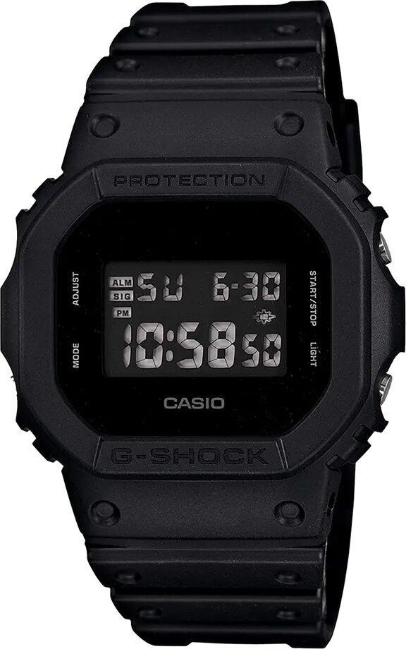 G-SHOCK G-SHOCK Back Lit Display Flash Alert Men's Watch - Black - Gemorie