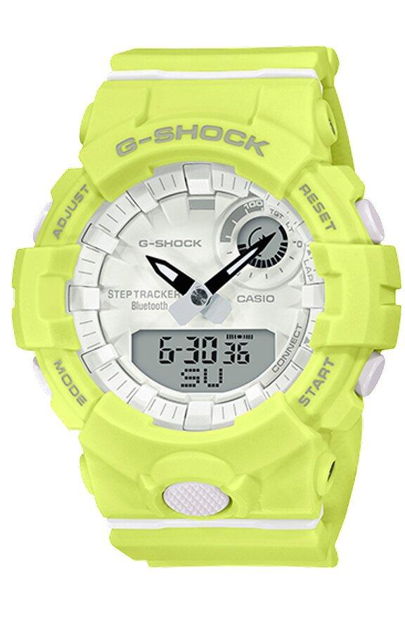 G-SHOCK G-SHOCK Bluetooth Connectivity 3-axis Accelerometer Women's Watch - Yellow - Gemorie