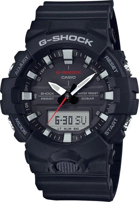G-SHOCK G-SHOCK Dual Time Men's Analog Digital Watch - Black - Gemorie