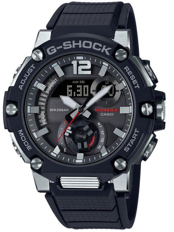 G-SHOCK G-SHOCK G-STEEL Power Saving Solar Powered Men's Watch - Black - Gemorie