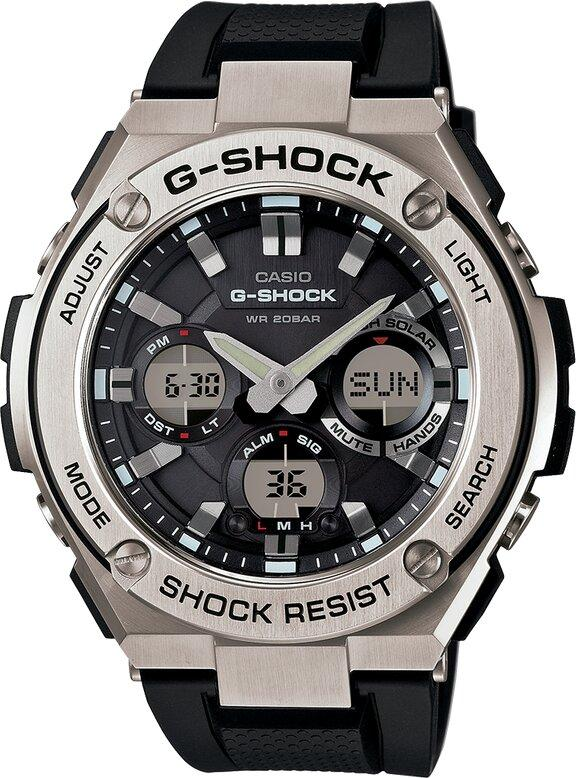 G-SHOCK G-SHOCK G-STEEL Rechargeable Battery 200M Water Resistant Resin Band Men's Watch - Multicolor - Gemorie