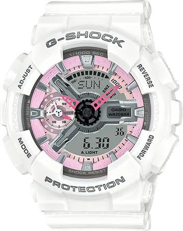 G-SHOCK G-SHOCK GMA-S110MP-7A Casio- WHITE AND PINK - Gemorie