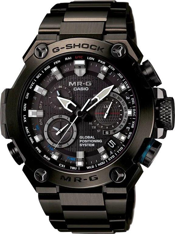 G-SHOCK G-SHOCK GPS Hybrid Wave Ceptor Men's Watch - Black - Gemorie
