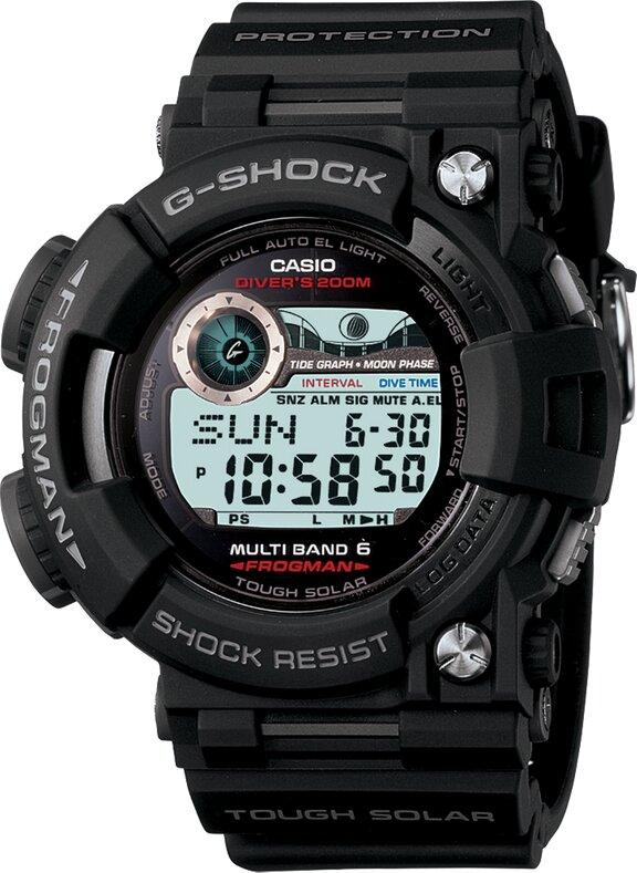 G-SHOCK G-SHOCK Master of G FROGMAN Model Diving Watch - Black - Gemorie