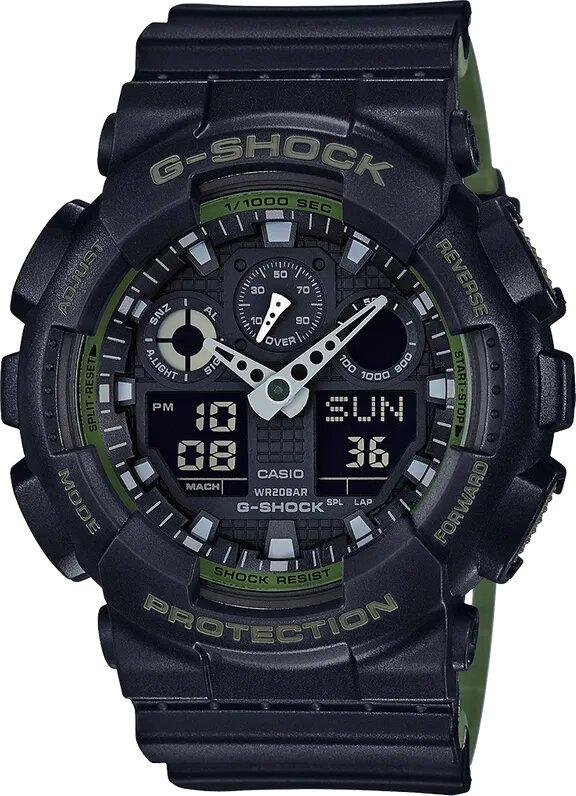 G-SHOCK G-SHOCK Military Inspired Men's Watch - Black - Gemorie