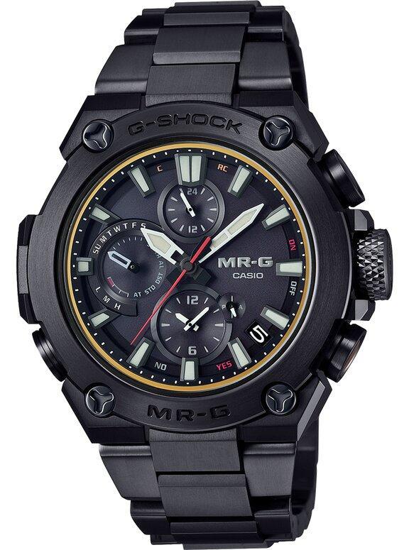 G-SHOCK G-SHOCK MR-G Elapsed Time Measuring Mode Men's Watch - Black - Gemorie