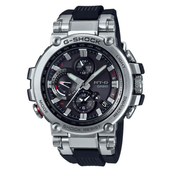 G-SHOCK G-SHOCK MT-G Sapphire Crystal Men's Watch - Silver and Black - Gemorie