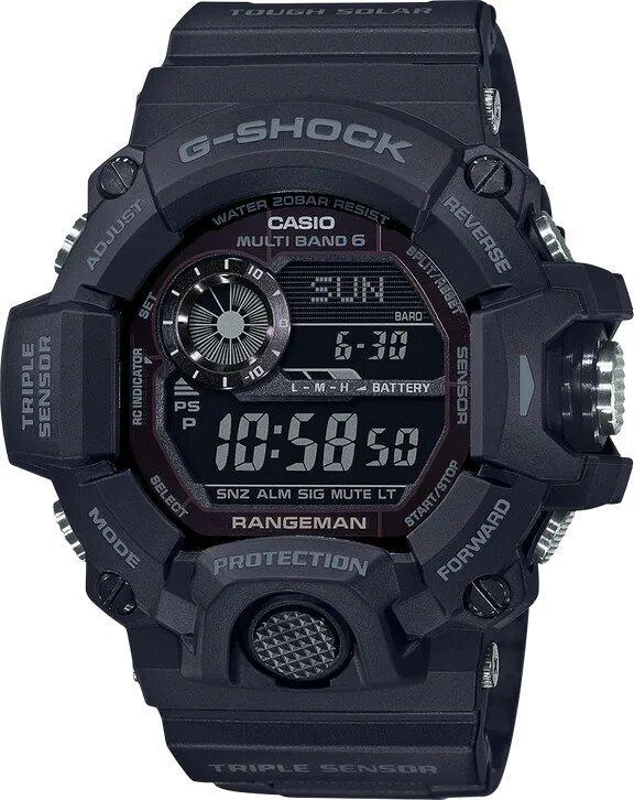 G-SHOCK G-SHOCK Mud-Resistant Master of G Watch - Black - Gemorie