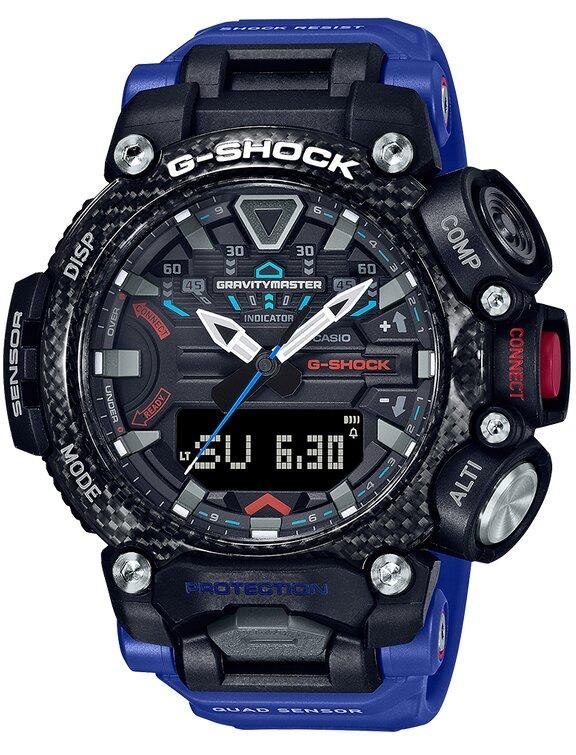 G-SHOCK G-SHOCK Quad Sensor Bluetooth Weather Resistant Men's Watch - Multicolor - Gemorie
