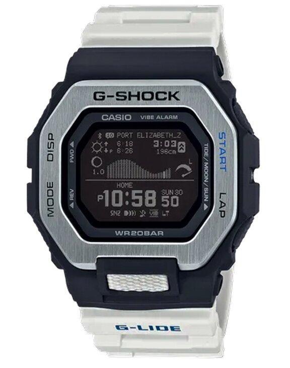 G-SHOCK G-SHOCK Sports Resin Guard Structure Men's Digital Watch - White & Black - Gemorie