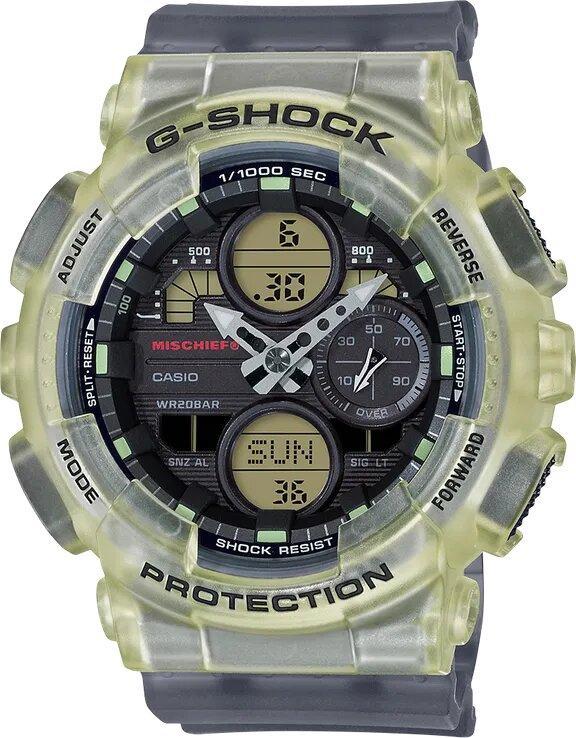 G-SHOCK G-SHOCK Women's Limited Edition MISCHIEF Collaboration Watch - Clear - Gemorie