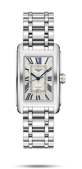 LONGINES LONGINES Dolcevita Premium Sapphire Crystal Watch - Stainless Steel - Gemorie