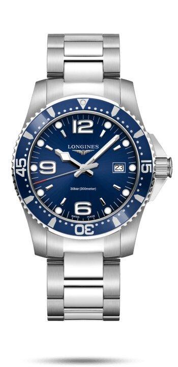 LONGINES LONGINES HydroConquest 41mm Swiss Super-LumiNova® Watch - Stainless Steel - Gemorie