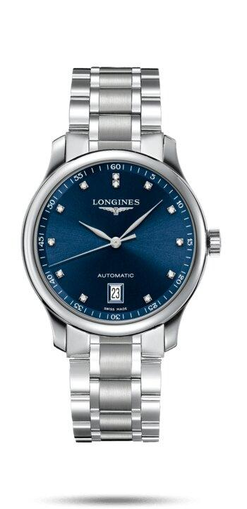 LONGINES LONGINES Master Collection 38mm Sapphire Crystal Men's Watch - Stainless Steel - Gemorie