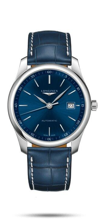 LONGINES LONGINES Master Collection 40 MM Premium Sapphire Crystal Men's Watch - Blue - Gemorie