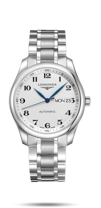 LONGINES LONGINES Master Collection Automatic Movement 38mm Men's Watch - Stainless Steel - Gemorie