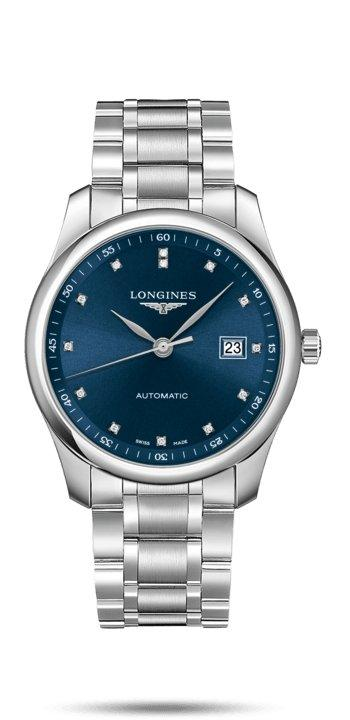 LONGINES LONGINES Master Collection Watch With 13 Top Wesselton VS-SI Diamonds - Stainless Steel - Gemorie