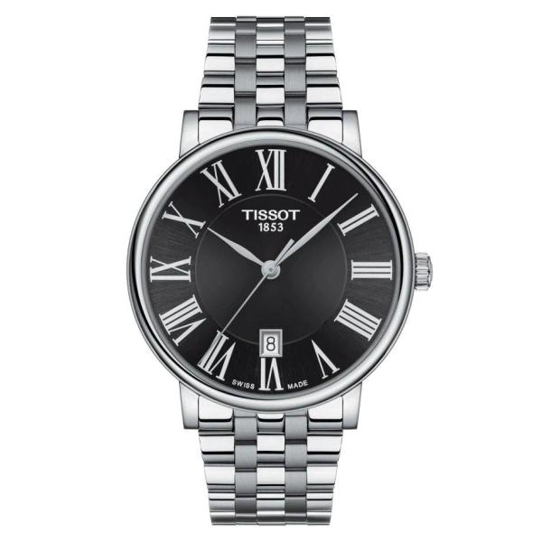 Tissot TISSOT Carson Premium Roman Index Men's Watch - Stainless Steel - Gemorie