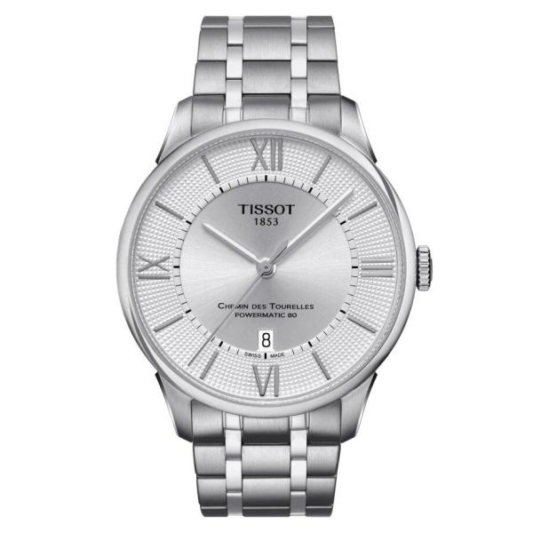 Tissot TISSOT Chemin Des Tourelles Powermatic 80 Men's Watch - Stainless Steel - Gemorie