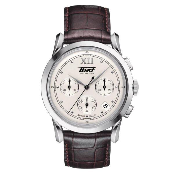 Tissot TISSOT Heritage Milanese Leather Strap Men's Watch - Brown - Gemorie