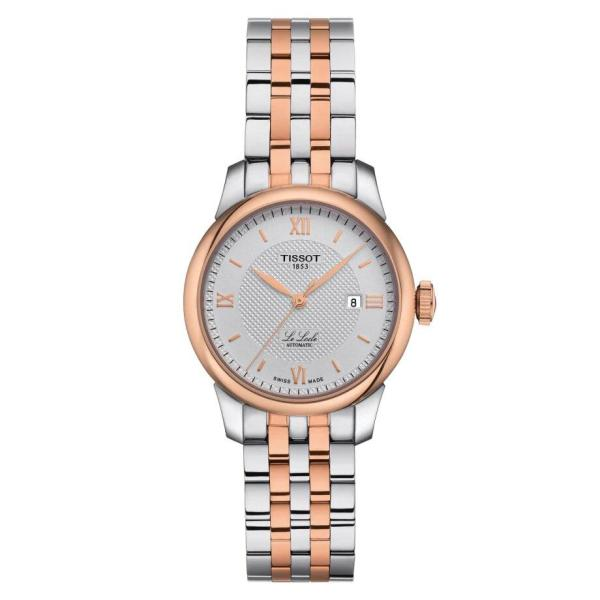 Tissot TISSOT Le Locle Automatic Lady (29.00) - Stainless Steel & Rose Gold - Gemorie