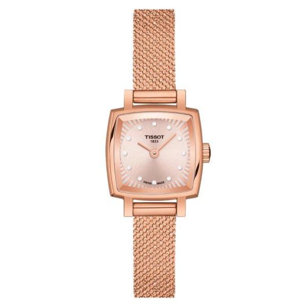 Tissot TISSOT Lovely Square Women's Watch - Rose Gold & Stainless Steel - Gemorie