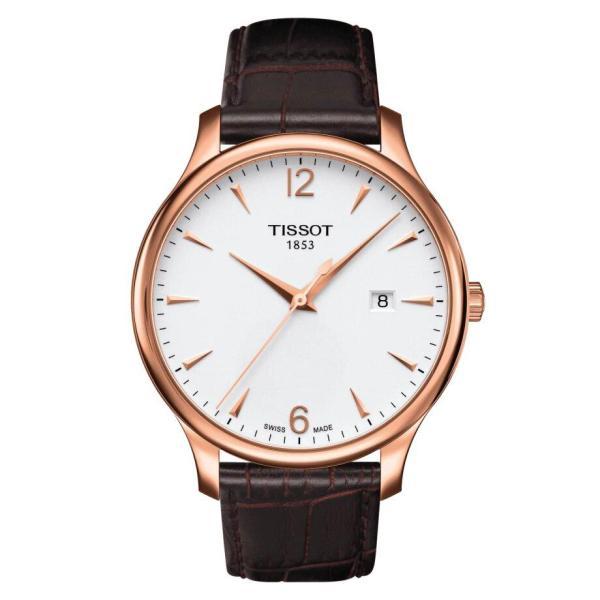 Tissot TISSOT Tradition Men's Watch - Brown - Gemorie