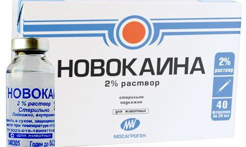 tratament comun cu novocaină)