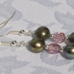 Beautiful pearl earrings