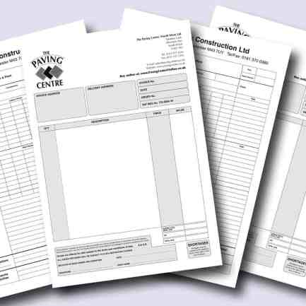 numbering, ncr forms, prescriptions, work orders, invoice