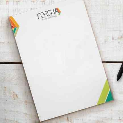 notepads, notepads printing, notepads printing north york, customized notepads