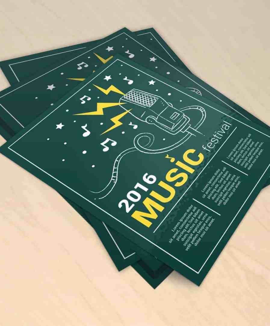 flyers, 100lb flyers, printing, offers, 100lb text