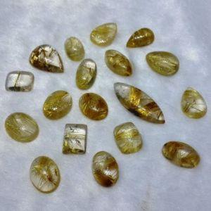 Natural Rutilite Quartz - Gems Jewellers & Gems Stone