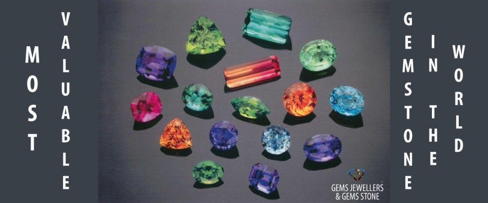 বিশ্বের সবচেয়ে দামী ১০টি রত্নপাথর - World's Most Valuable Gemstone - by Gems Jewellers & Gems Stone