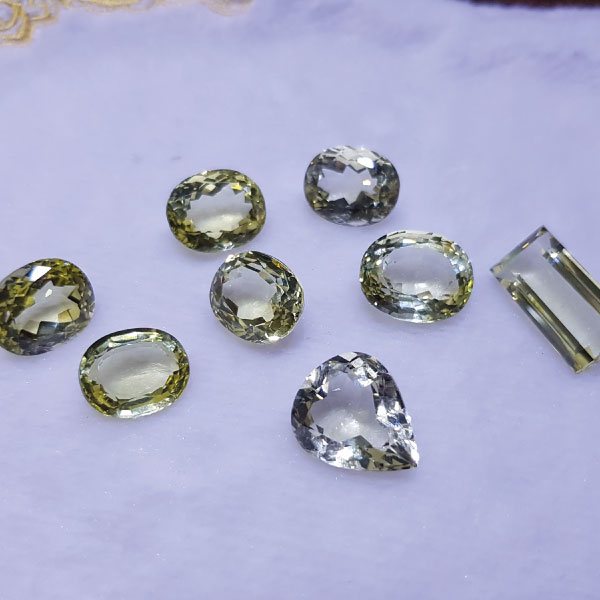 Natural Lemon Quartz - Gems Jewellers & Gems Stone