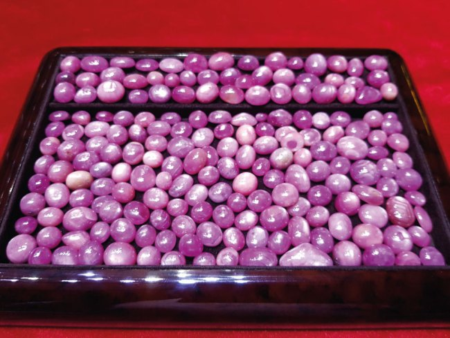 Natural Star Ruby - Gems Jewellers & Gems Stone