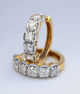 Diamond Earring (Pasha) - ডায়মন্ড বা হীরার পাশা