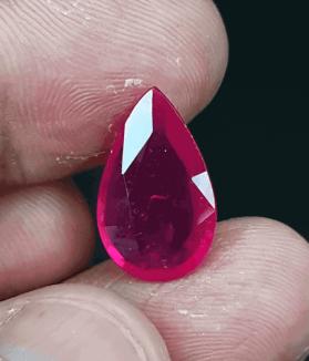 An Original Natural Best Quality Mozambique (African) Ruby Stone - অরিজিনাল মোজাম্বিক (আফ্রিকান) রুবী বা চুনি পাথর