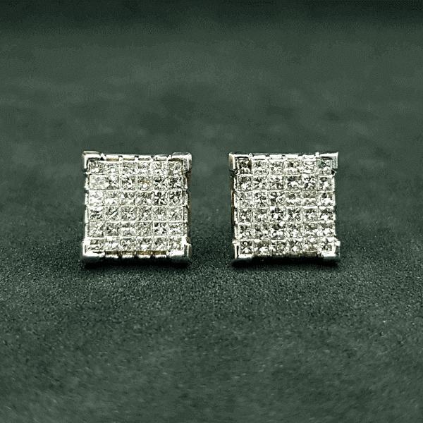 Latest Diamond Earring Price & Design 2021 - ডায়মন্ডের হীরার কানের দুলের দাম ও ডিজাইন
