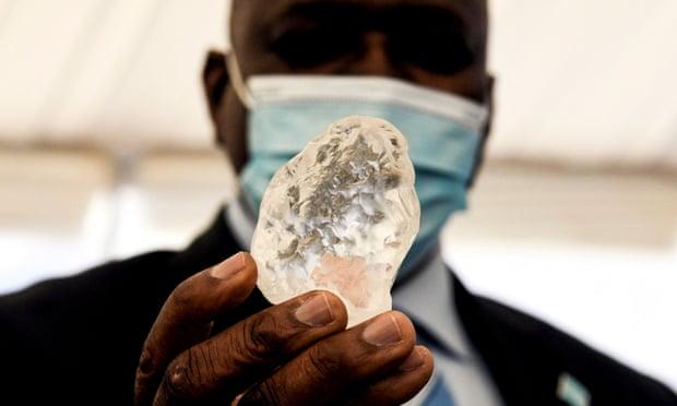World's Third Largest Diamonds Discovered in Botswana - বোতসোয়ানায় আবিষ্কৃত পৃথিবীর ৩য় বৃহত্তম হীরা