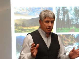 Jim Chmelik agent for the Western Landmark Foundation