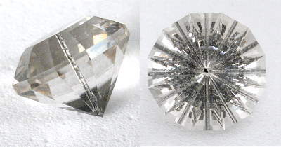 rutilated quartz centered needle